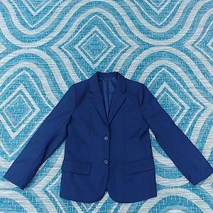 Boys Dress Blazer Size 12 Navy Blue